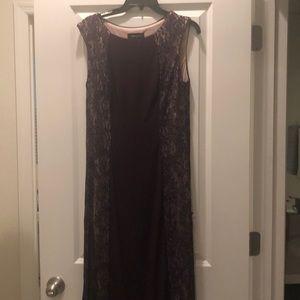 Purple formal dress